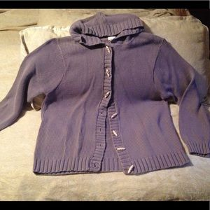Lilac hooded sweater